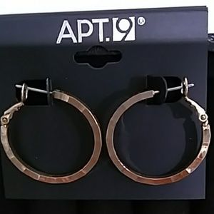 *3 for $10* for NWT APT. 9 Gold Pierced
